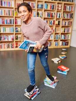 Fotografie Raymond de Vries - In opdracht van Trichis Publishing, Rotterdam. Fotoreportage van het Leespaleis in Rotterdam tbv de publiciteit van het Leespaleis. ©2018 RAY fotografie/beeld/ontwerp
